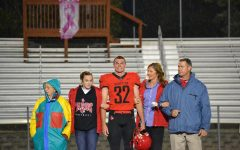 SCHS Recognizes Seniors at the 10/19 Game