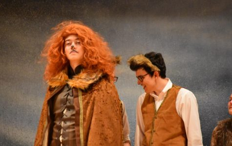 SCHS Cardinal Players Performed Fall Play