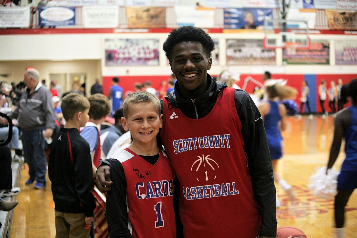 Meet the Cards provides the opportunity for middle school and high school athletes to share in the excitement of the season's start.