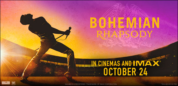 Bohemian Rhapsody may be a film that music lovers should check out soon.