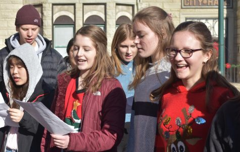 World Language Choirs Tour Scott County to Spread Holiday Cheer