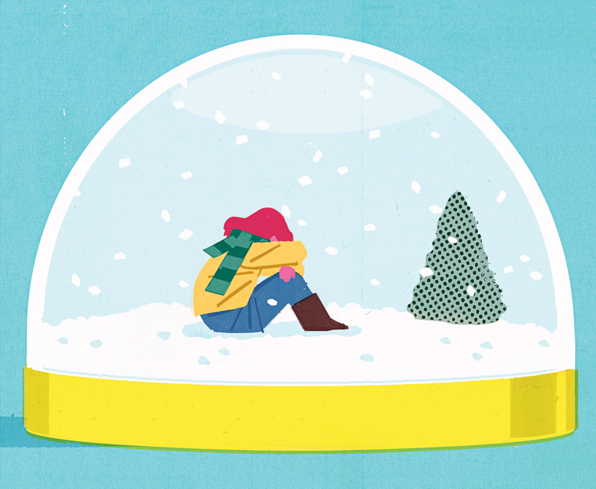 Seasonal affective disorder often strikes in the winter, but it can be treated.