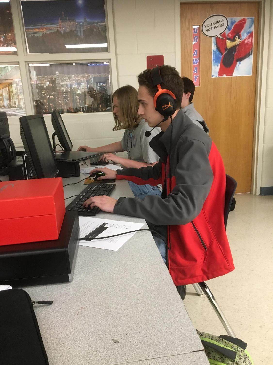 Esports is a new club sport offered at SCHS this year, and it also sanctioned by KHSAA since electronic gaming continues to increase in popularity.