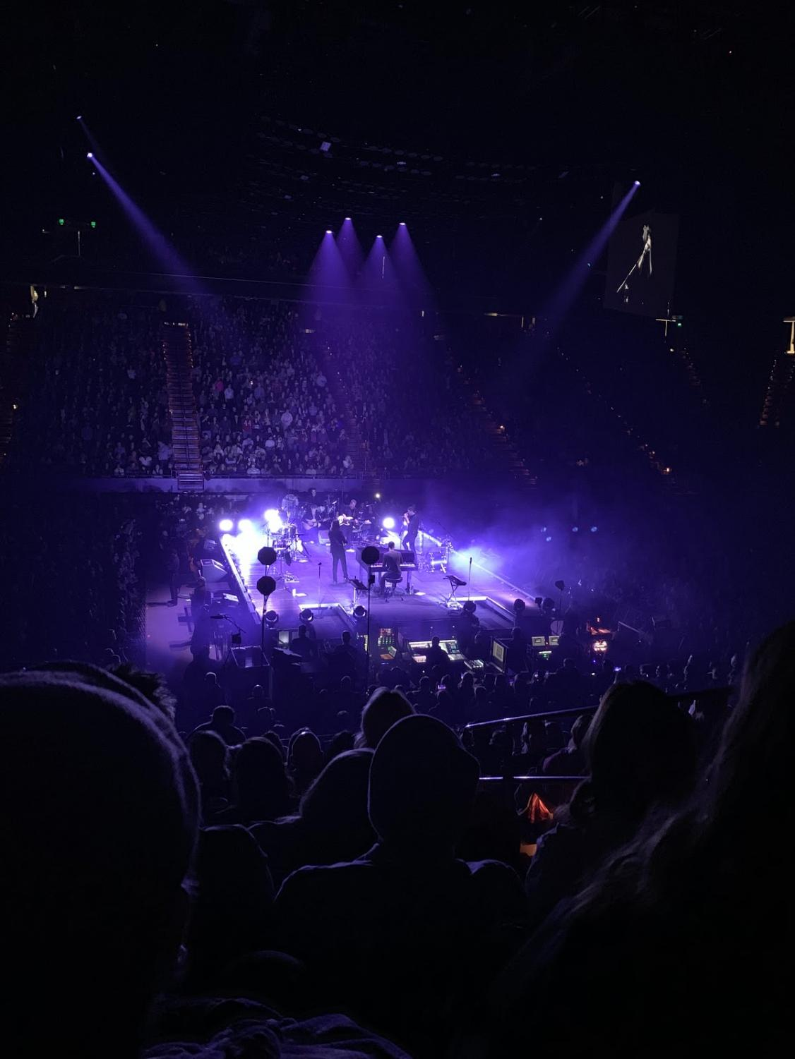 Mumford and Sons recently performed at Rupp Arena in Lexington.