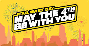 Star Wars Day gives fans the chance to show their approval for the series created by George Lucas.