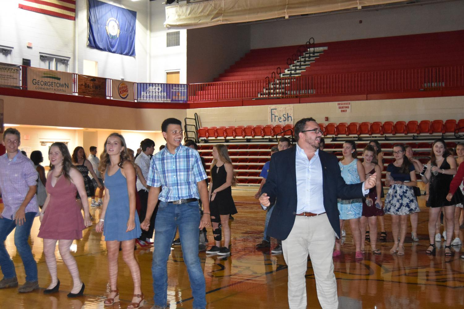 Pictured is Scott County High School's Homecoming Dance of 2019.