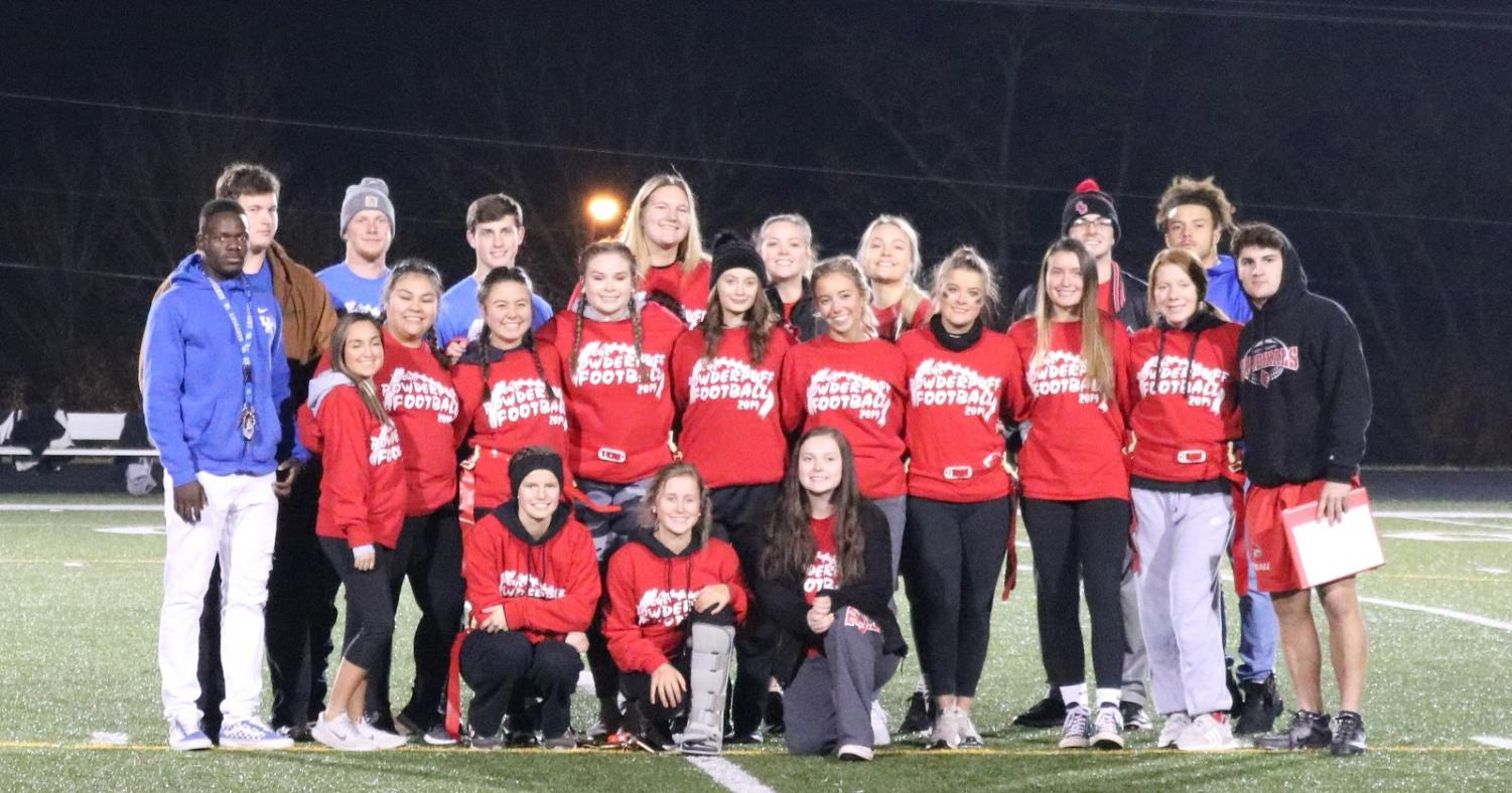 Scott County High School's 2019 Red Team for the Powderpuff Games