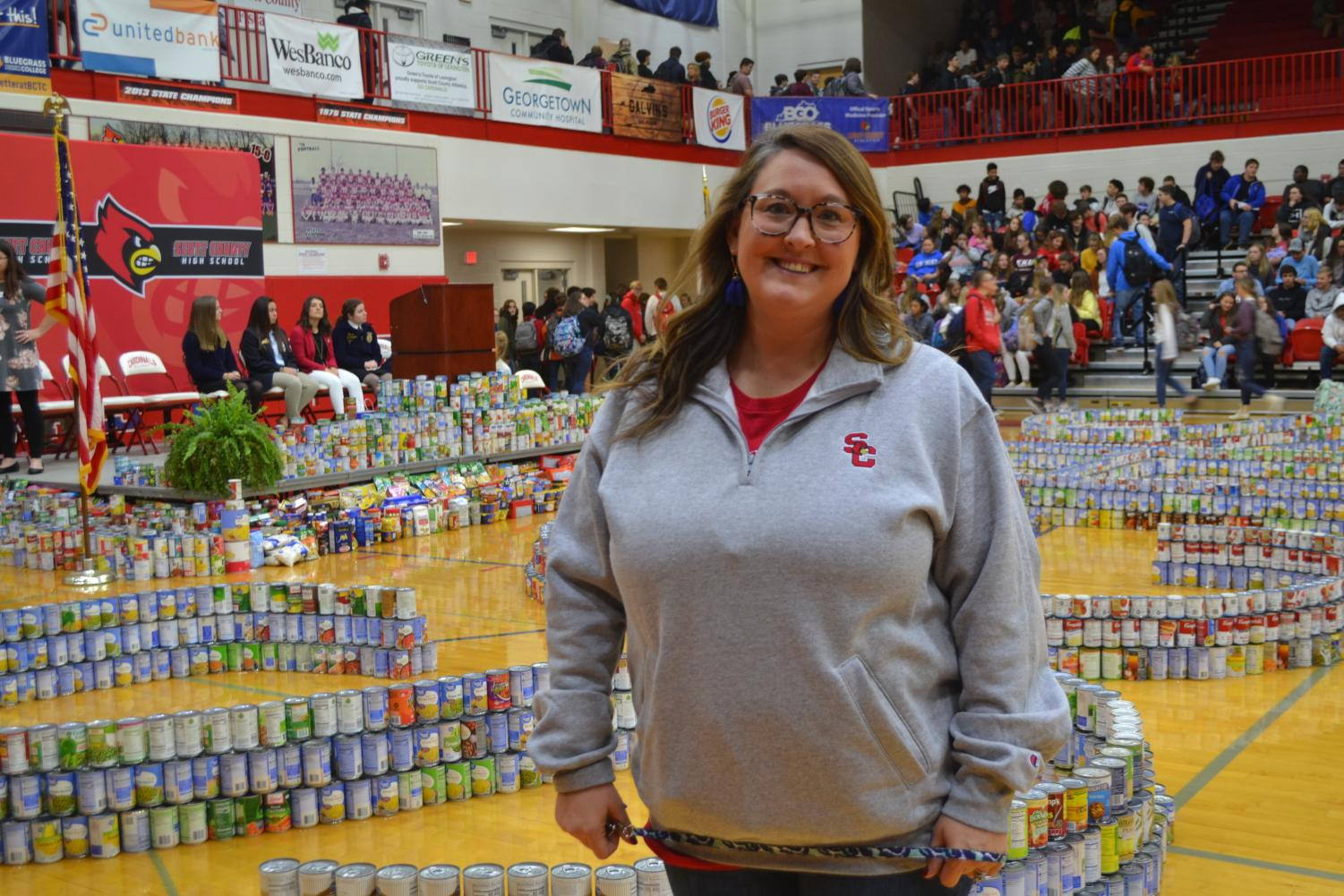 SCHS+Canned+Food+Drive+Feeds+the+Families+of+Scott+County