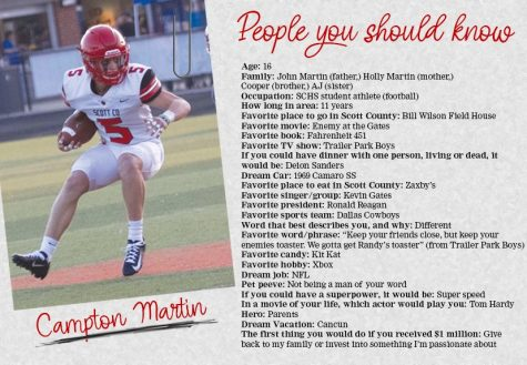 People You Should Know: Campton Martin